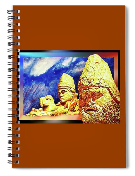 Ancient  Glory Spiral Notebook