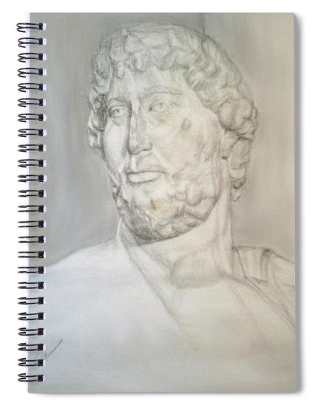 Ancient Greek Statue Spiral Notebook