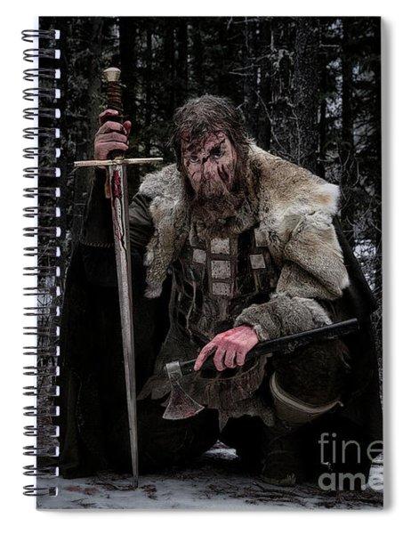Ancient Warrior Spiral Notebook