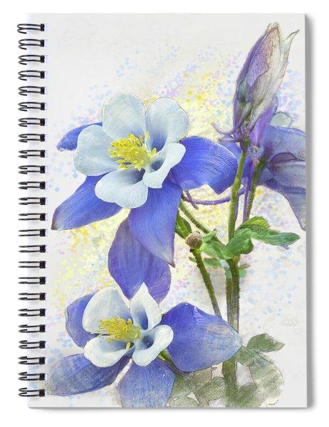Ancolie Spiral Notebook