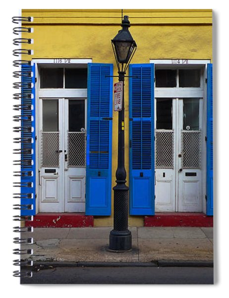 Spiral Notebook featuring the photograph And A Half by Skip Hunt