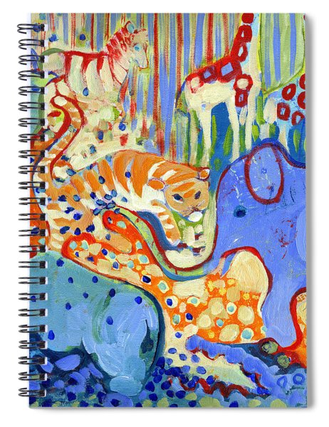 And Elephant Enters The Room Spiral Notebook