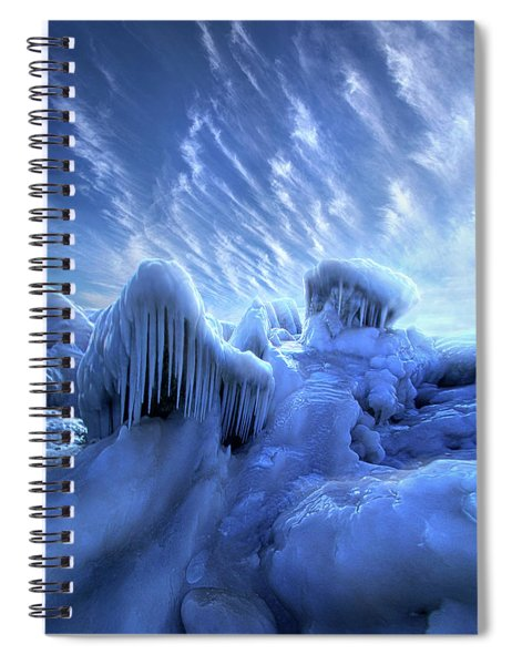 And Slept The Tempest Wild Spiral Notebook