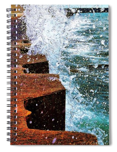 And Sometimes The Shear Power Of Unbridled Beauty Is Enough Spiral Notebook