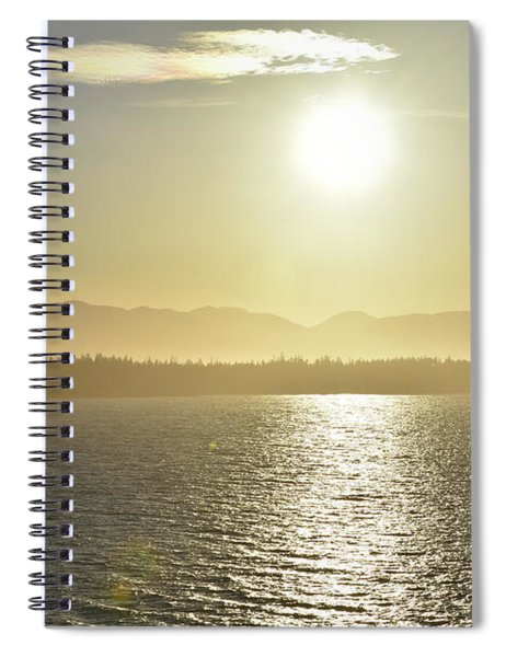 And The Sun Goes Down Spiral Notebook