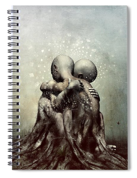 And Though We Fade Away Spiral Notebook