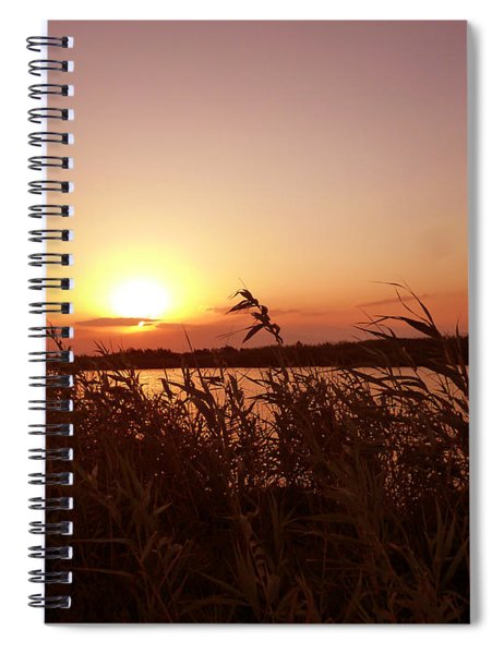 Andalusian Landscape Spiral Notebook