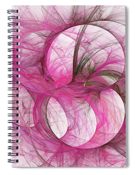 Andee Design Abstract 139 2017 Spiral Notebook