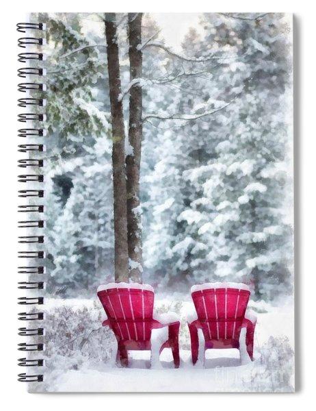 Anderson Pond Eastman Grantham Winter Spiral Notebook