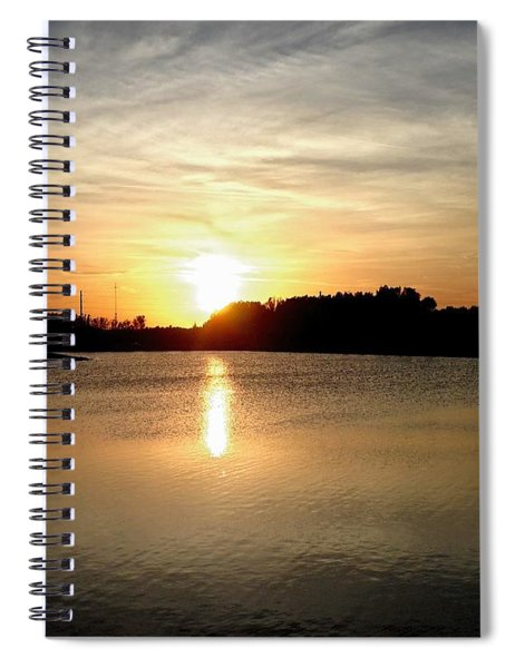 Anderson Stormwater Park In Rockledge Florida Spiral Notebook
