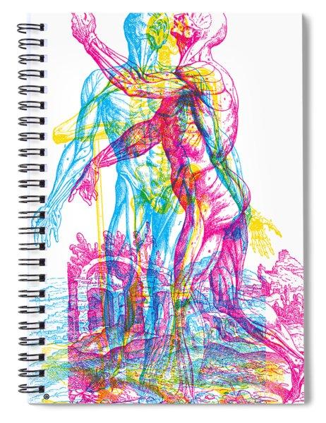 Andreae Skeleton  Spiral Notebook