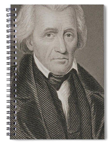 Andrew Jackson Spiral Notebook