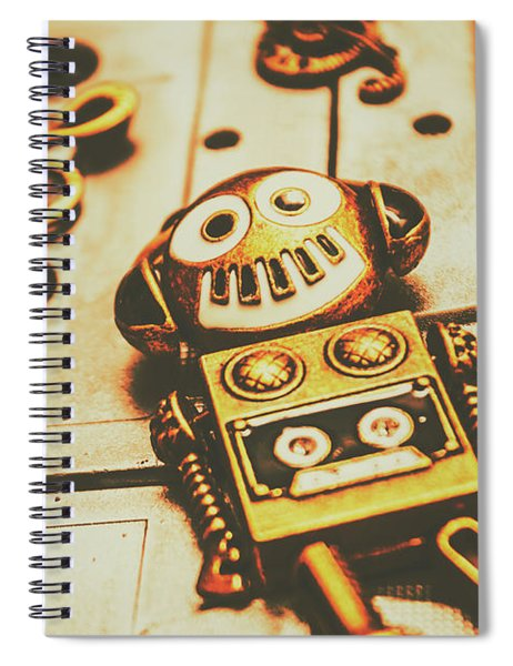 Android Rave Spiral Notebook