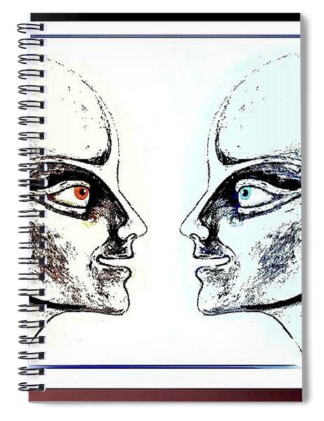 Androids  Talking Spiral Notebook