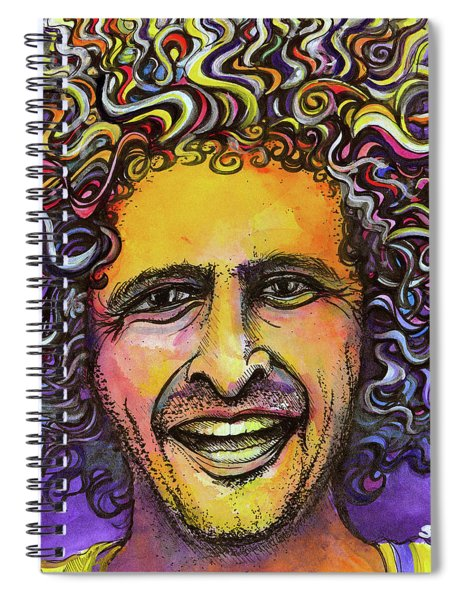 Andy Frasco Spiral Notebook