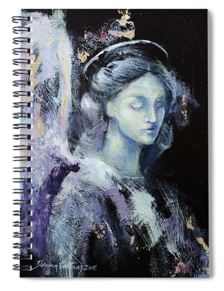 Angel 2 Spiral Notebook