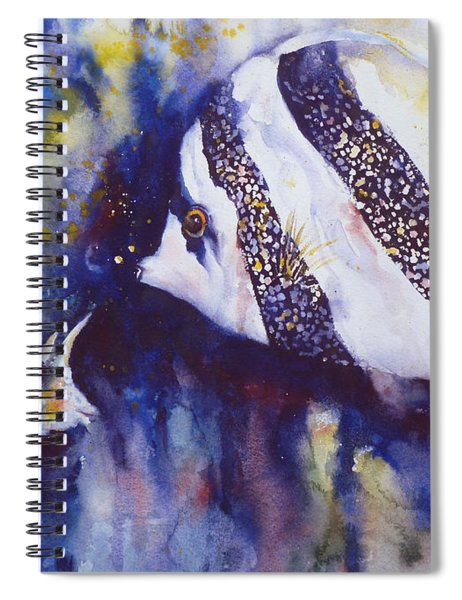 Angel And Unicorn Spiral Notebook