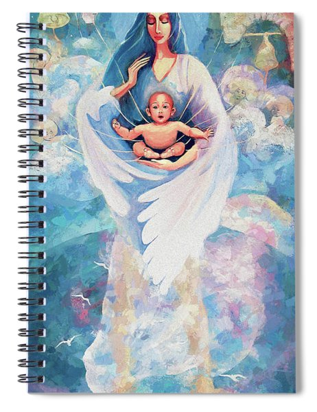 Angel Blessing Spiral Notebook