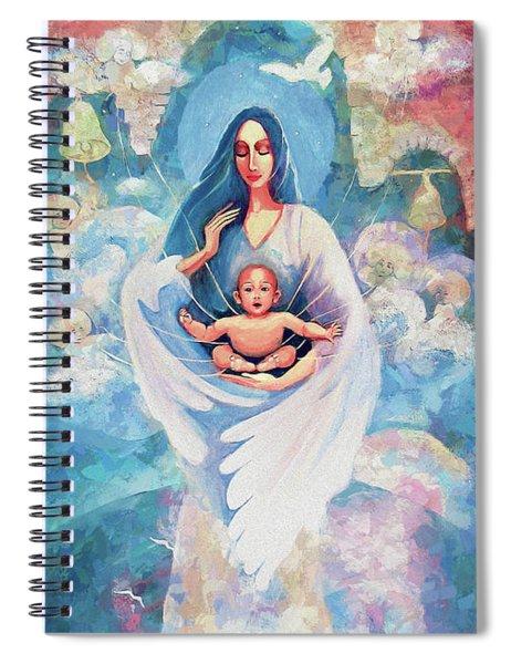 Angel Blessing Spiral Notebook