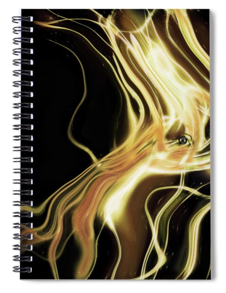 Angel Eyes Spiral Notebook