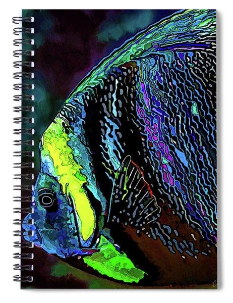Angel Face 3 Spiral Notebook