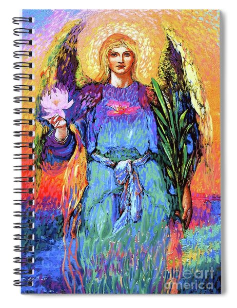 Angel Love Spiral Notebook