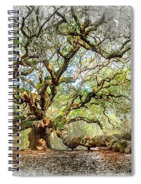 Angel Oak Mixed Media Spiral Notebook