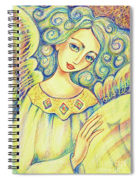 Angel Of Mercy Spiral Notebook