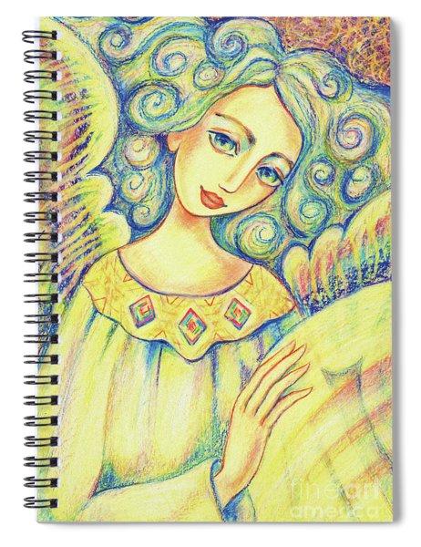 Angel Of Mercy Spiral Notebook
