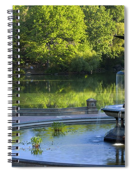 Angel Of The Waters Spiral Notebook