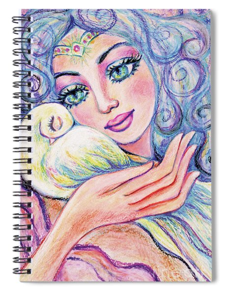 Angel Of Tranquility Spiral Notebook