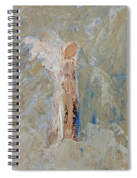 Angel Out Of Nowhere Spiral Notebook