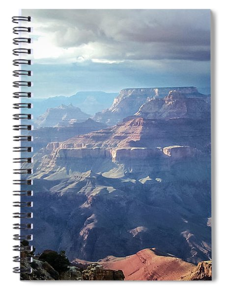 Angel S Gate And Wotan S Throne Grand Canyon National Park Spiral Notebook
