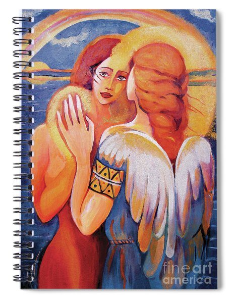 Angel Touch Spiral Notebook