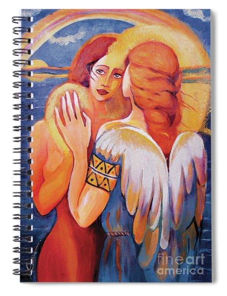 Angel Touch Spiral Notebook