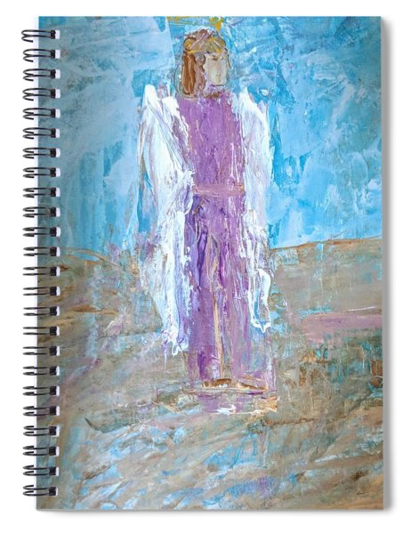 Angel With Confidence Spiral Notebook