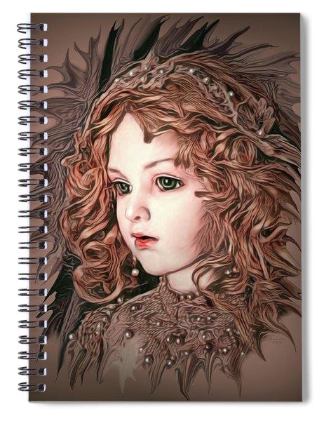 Angelic Doll Spiral Notebook