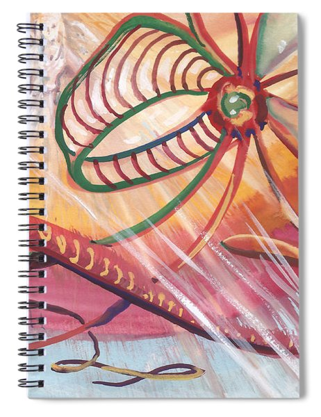 Angelic Frequency Spiral Notebook
