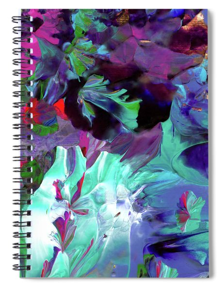 Angel's Teardrop Spiral Notebook