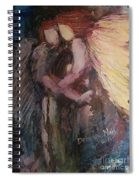 Angels Watching Over Me Spiral Notebook