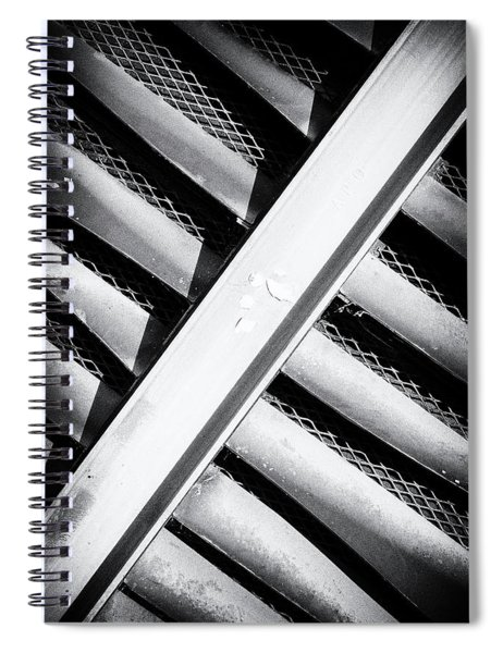 Angle Of Venting II Spiral Notebook