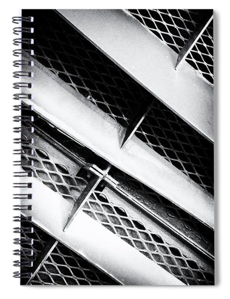 Angle Of Venting IIi Spiral Notebook