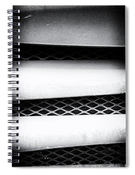 Angle Of Venting Iv Spiral Notebook