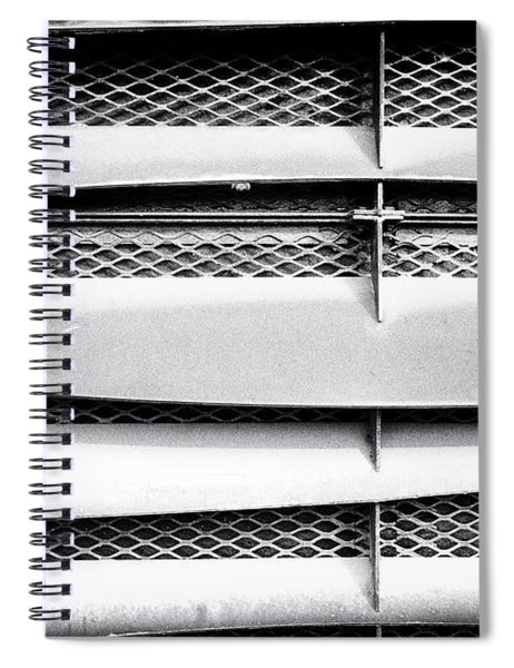 Angle Of Venting V Spiral Notebook