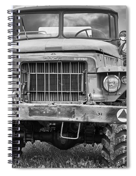 Angry Grandpa Spiral Notebook