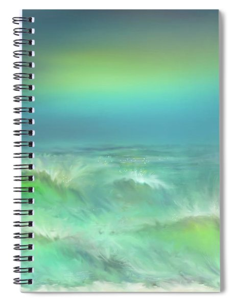 Angry Irma Spiral Notebook