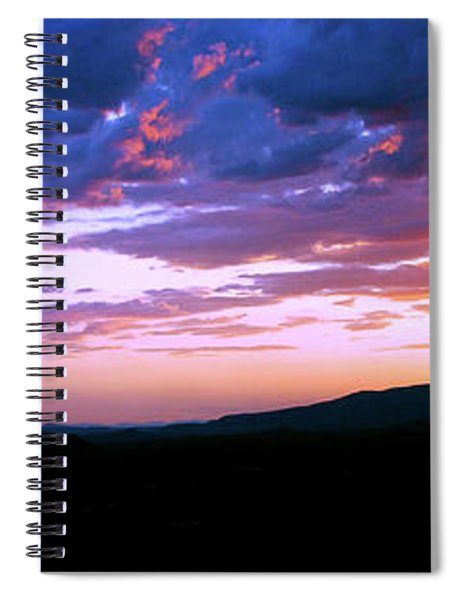Angry Sky Spiral Notebook