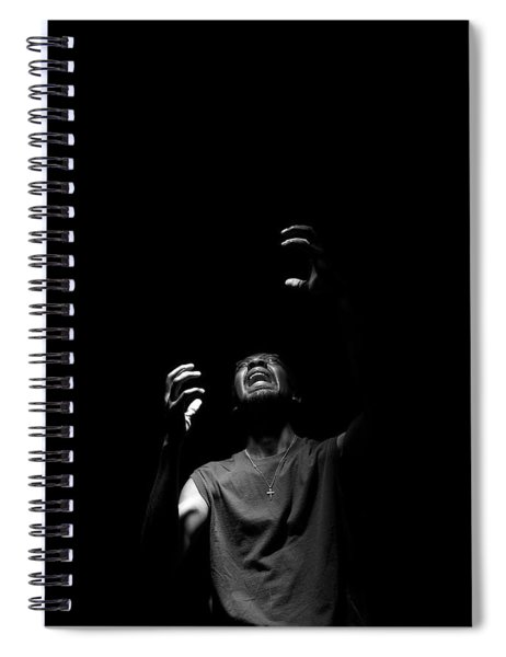 Anguish Spiral Notebook