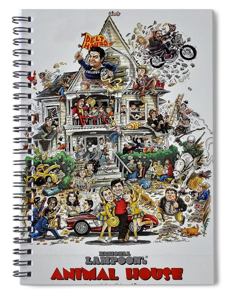 Spiral Notebook featuring the photograph Animal House  by Movie Poster Prints