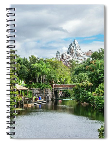 Expedition Everest Spiral Notebook